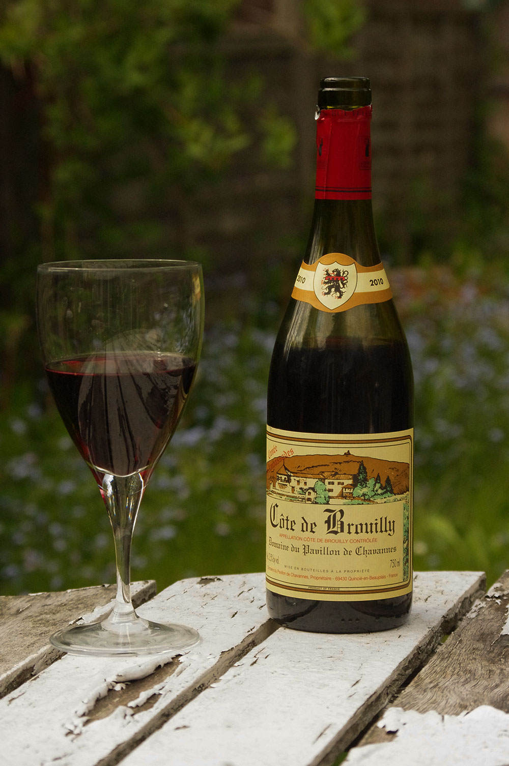 bouteillecotedebrouilly